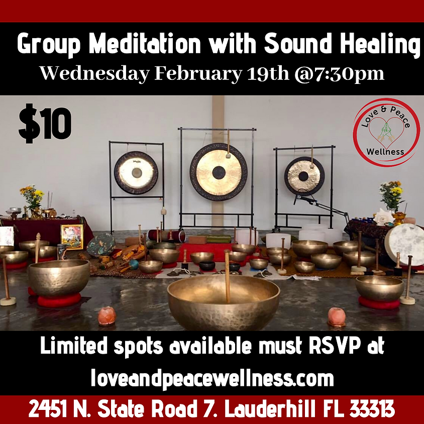 Group Meditation and Sound Therapy