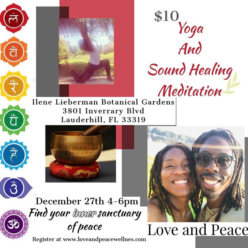 Yoga and Sound Healing Meditation