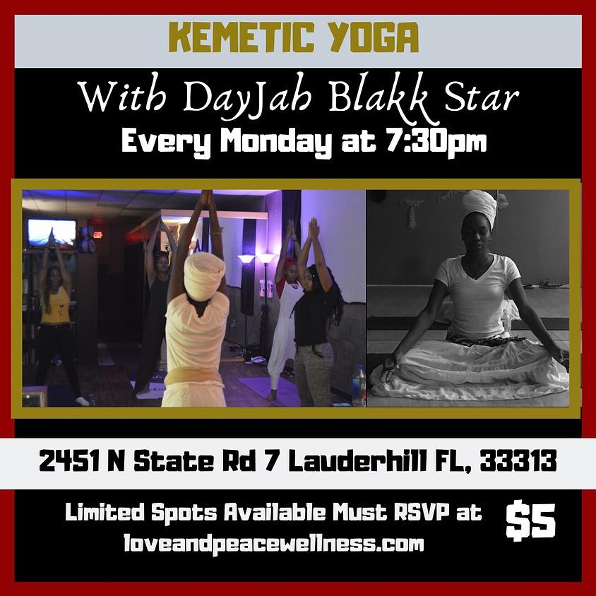 Kemetic Yoga by DayJah Blakkstar