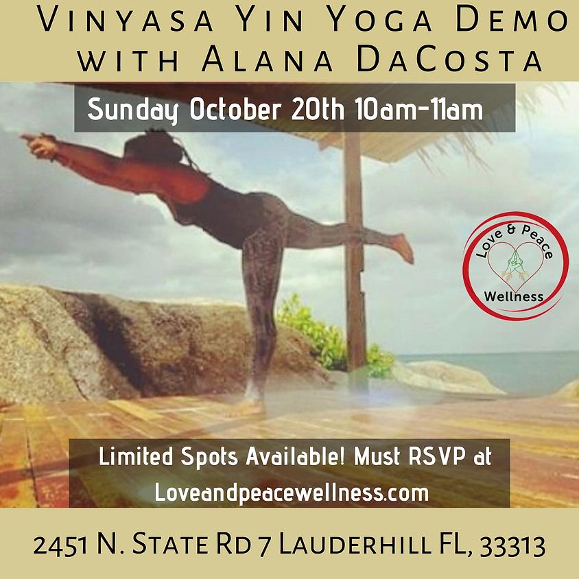 Free Vinyasa Yin Yoga Demo With Alana DaCosta