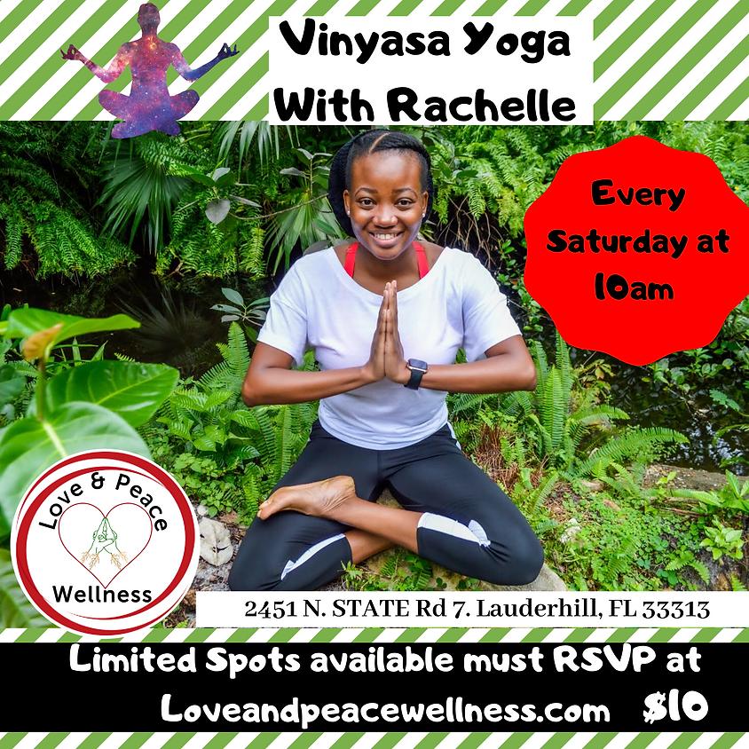 Vinyasa Yoga with Rachelle