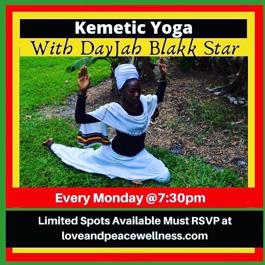 Kemetic Yoga with DayJah Blakk Star