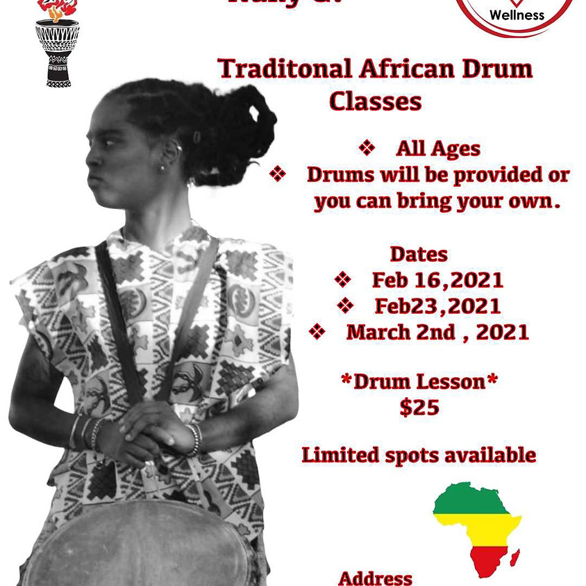 Traditional African Drum Class