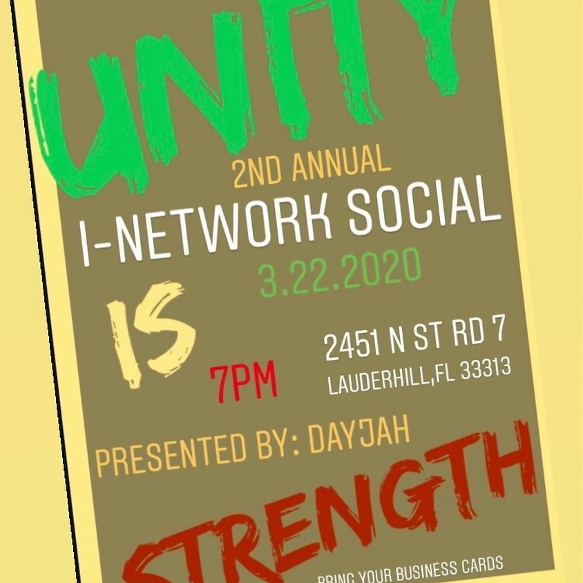 Unity 2nd Annual I-Network Social