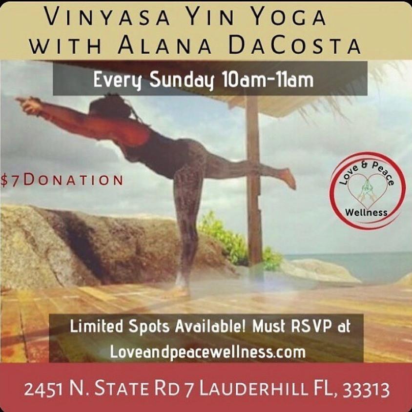 Vinyasa Yin Yoga with Alana DaCosta