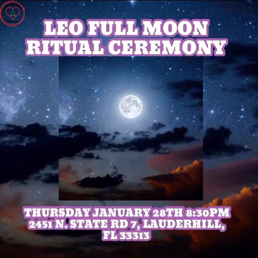 Leo Full Moon Ritual Ceremony