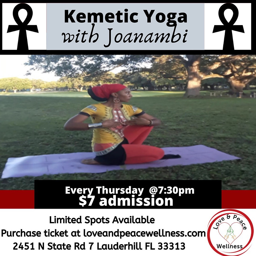 Kemetic Yoga with Joanambi