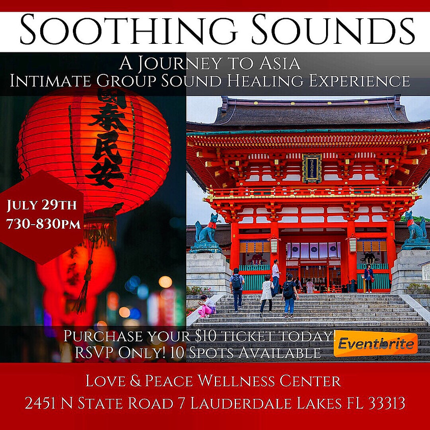 Soothing Sounds: A Journey to Asia