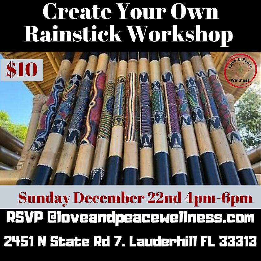 Create Your Own Rainstick Workshop