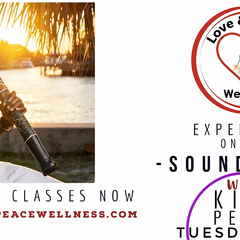 Guided Meditation and Sound Bath with King Peace