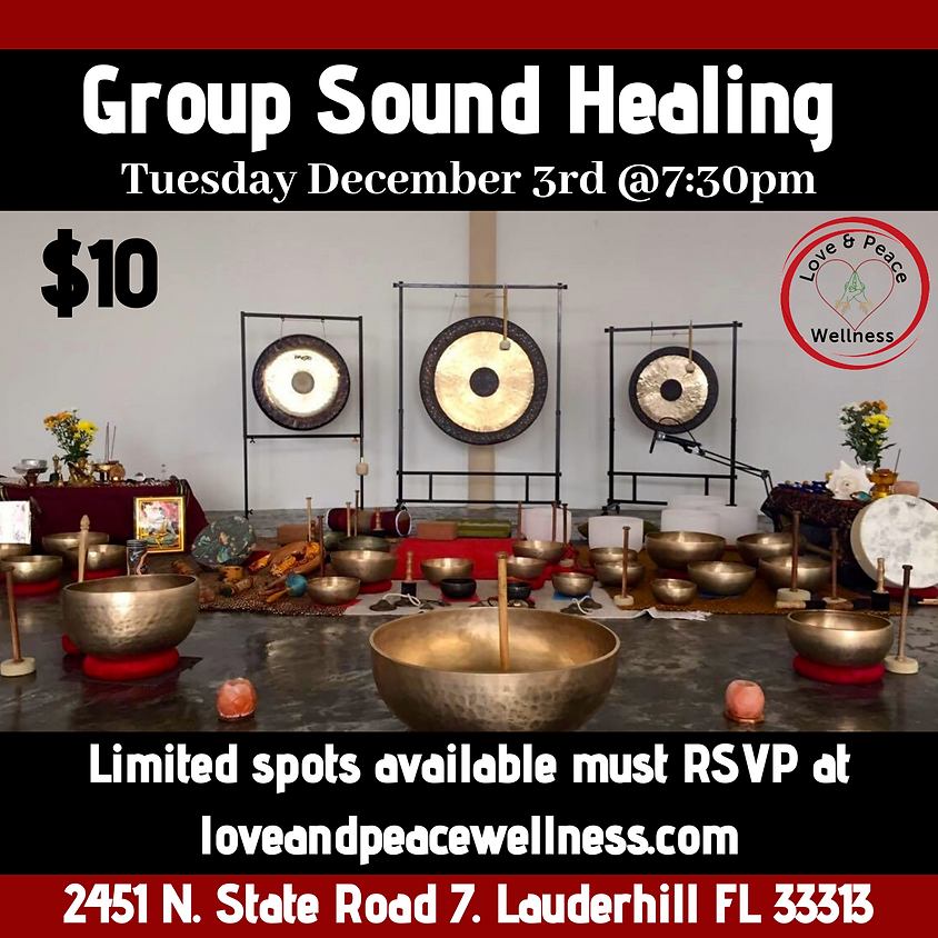 Group Sound Healing