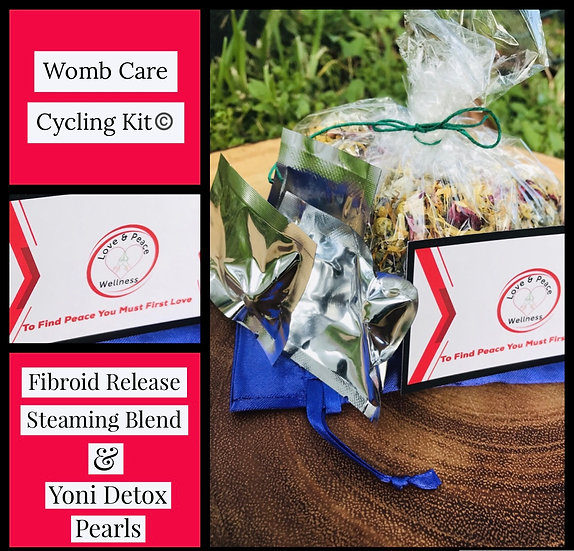 Womb Care Cycling Kit - Fibroid Release