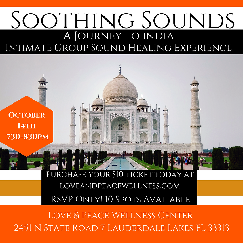 A Journey To India: An intimate Sound Healing Experience