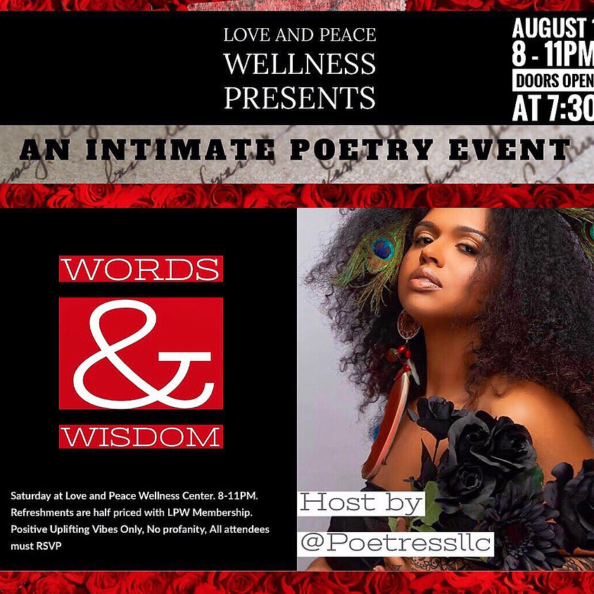 Words and Wisdom: An Intimate Poetry Event