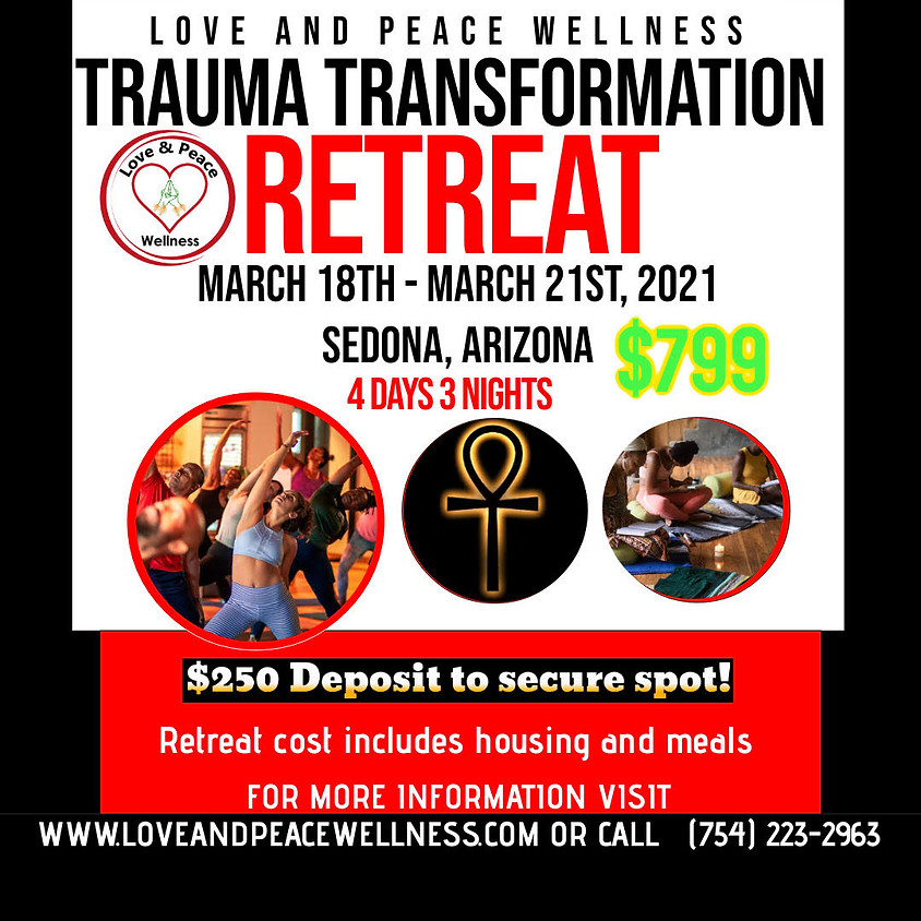 Trauma Transformation Retreat $799