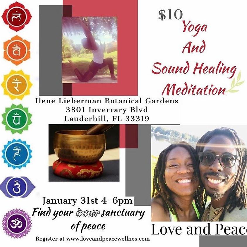 Yoga Sound and Sound Healing Meditation