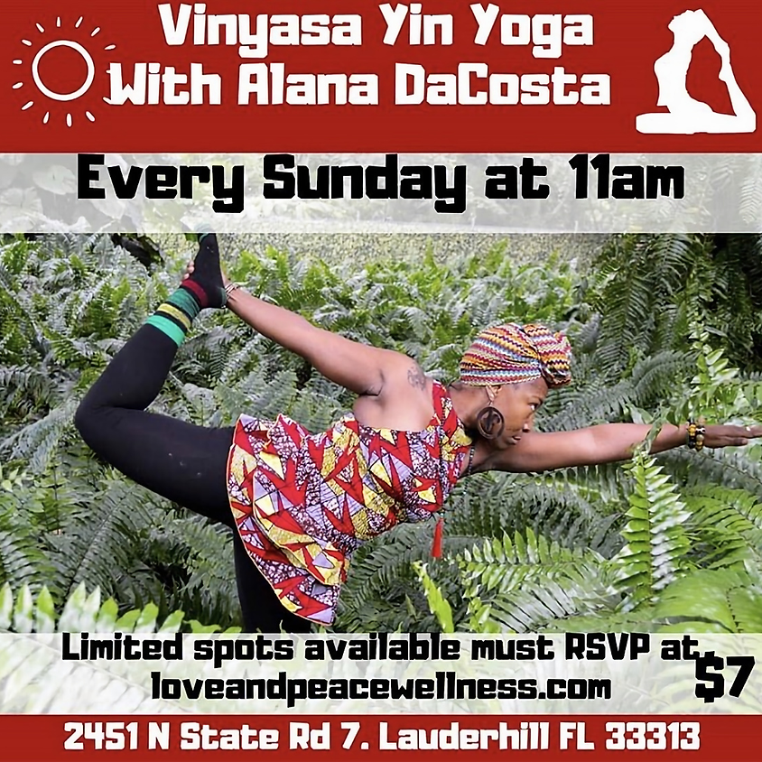 Vinyasa Yin Yoga with Alana