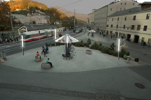 Bikeparker Rendering Ferdinand-Hanusch-Platz