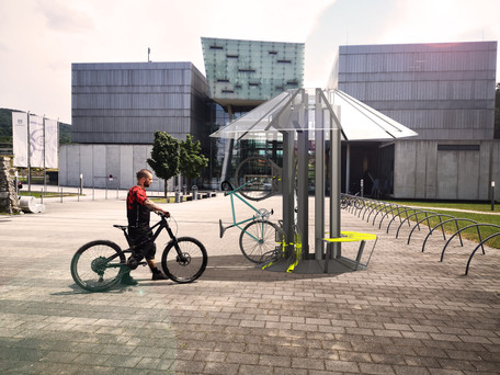 Bikeparker Rendering FH Salzburg