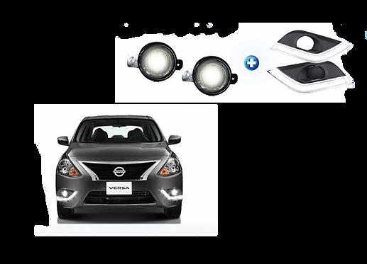 DRL + Faros de niebla Nissan Versa mod. 2015 - 2019