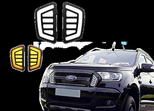 DRL en parrilla Ford Ranger mod. 2016 - 2017