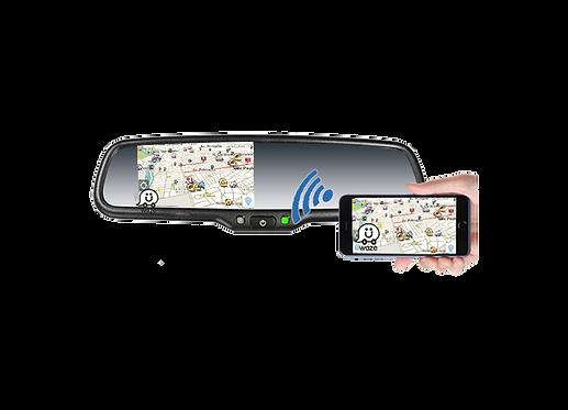Espejo retrovisor con monitor de reversa