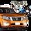 Thumbnail: Faros de niebla + DRL para Nissan NP300