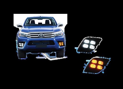 DRL Toyota Hilux mod. 2015 - 2017