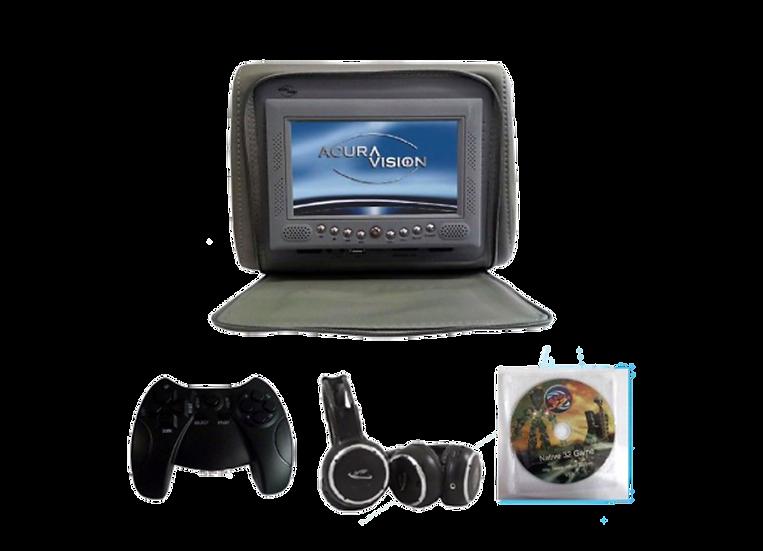 """Cabecera AV con monitor de 7"""""""