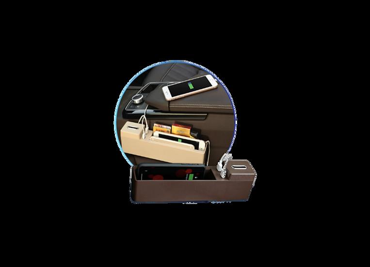 Organizador con cargador inalámbrico
