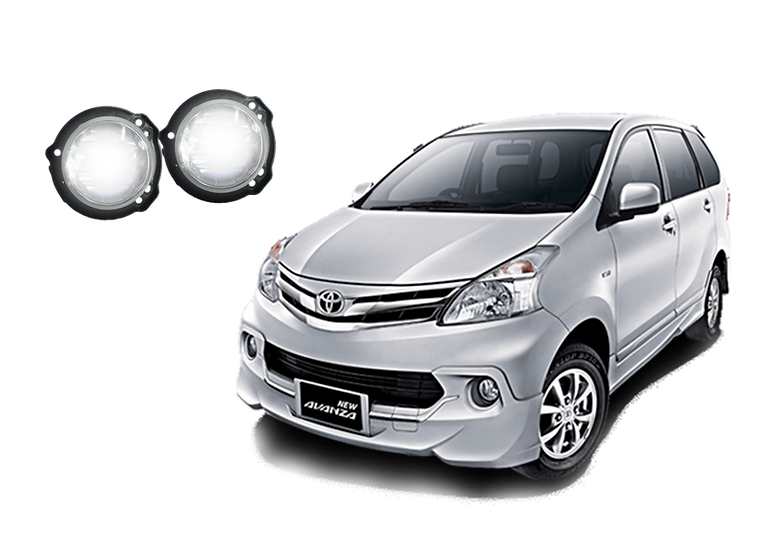 Faros de niebla Toyota Avanza