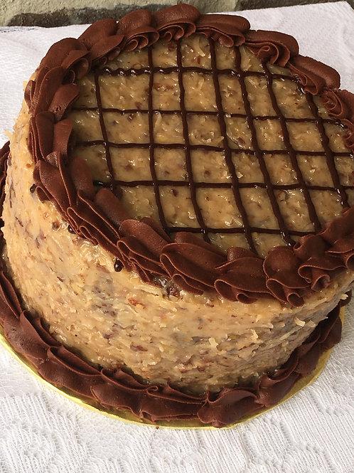 German Chocolate Cake, 8 inch