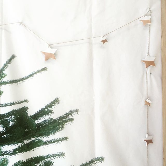 #craft a lovely #clay #star #garland during our #christmas #workshops for kids book now at www.sewcraftcook.com