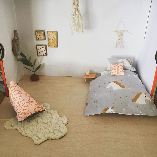 Dolls House Lounge Room