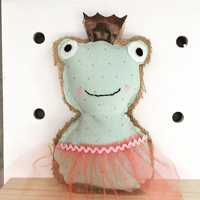 Sew Francine Frog