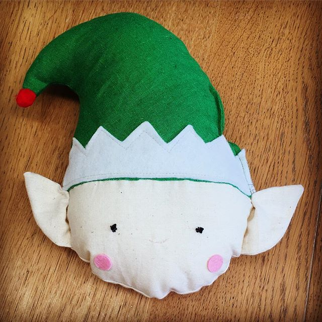 #learntosew & make an elf at one of our #Christmas #schoolholidayworkshops starting 13th December _#sewcraftcook #sew #kids #christmas #elf