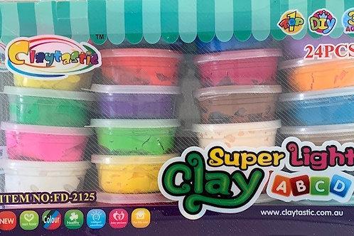 Air Dry Clay 24 pack