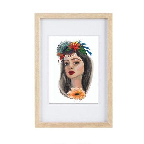 Framed Print Virgo
