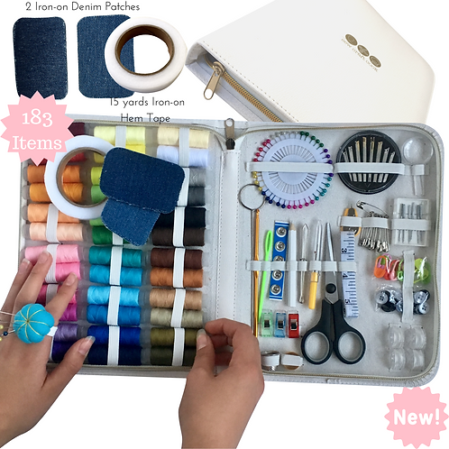 SewCraftCook Large Sewing Kit