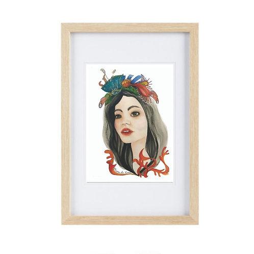 Framed Print Cancer