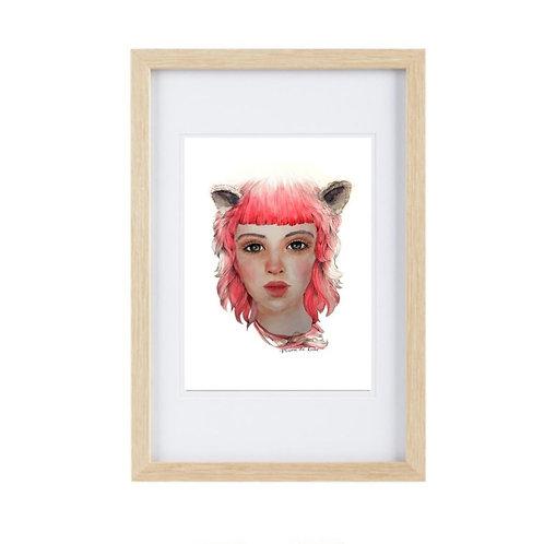 Framed Print Leo