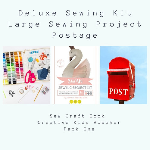 Deluxe Sewing Kit + Large Project Kit