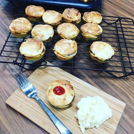 Lamb & Rosemary Pies
