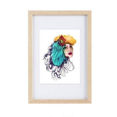 Framed Print Aquarius