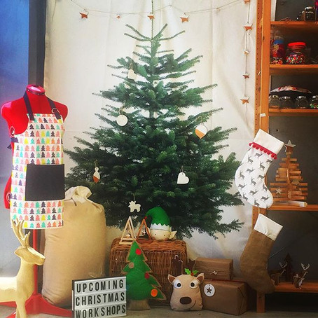Christmas Workshops at Sew Craft Cook