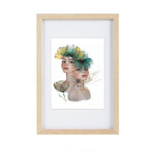 Framed Print Gemini
