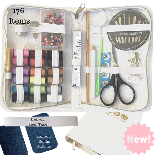 SewCraftCook Compact Sewing Kit