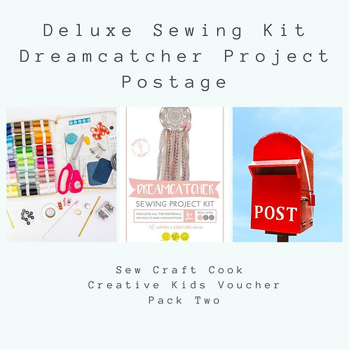 Deluxe Sewing Kit + Large Dreamcatcher Project Kit