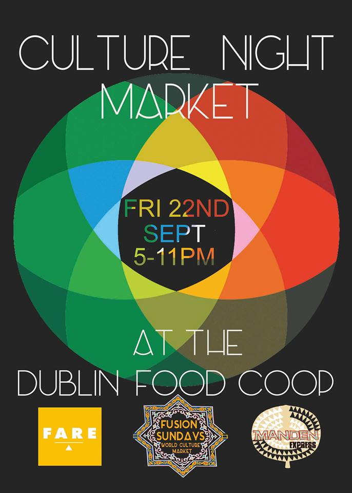 Culture Night Market 22nd September