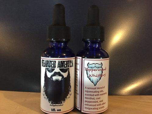 Peppermint Whiskers - Beard Oil - 1oz